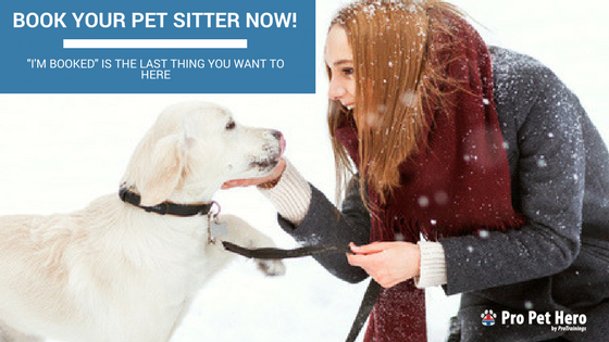 how to book a pet sitter