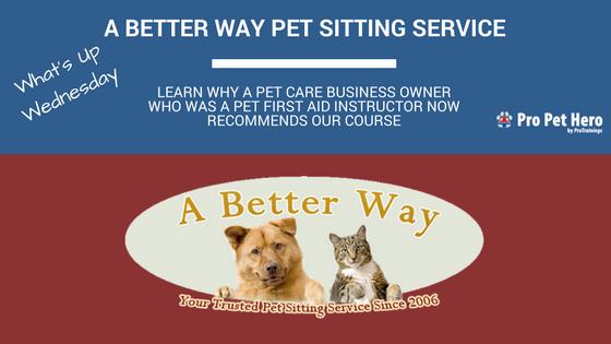 a better way pet sitting